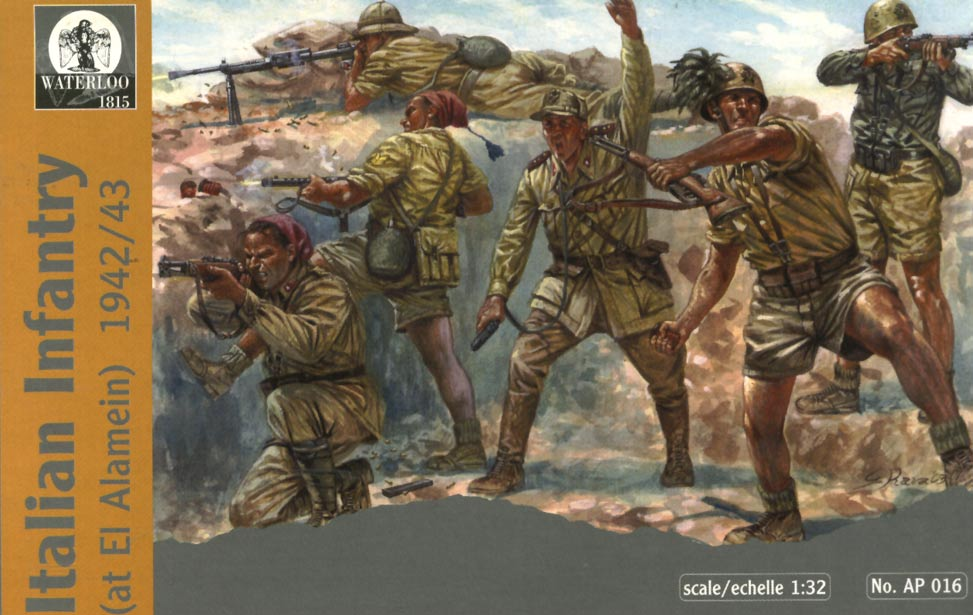 ITALIAN INFANTRY AT EL ALAMEIN 1942/1943