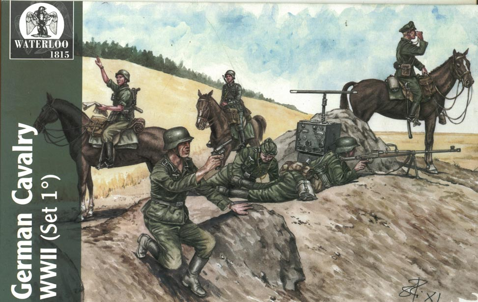 GERMAN CAVALRY #1 WWII