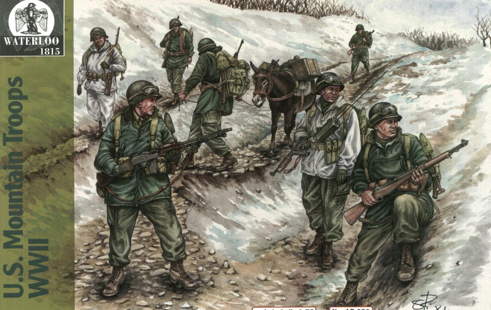 U.S. MOUNTAIN TROOPS WWII