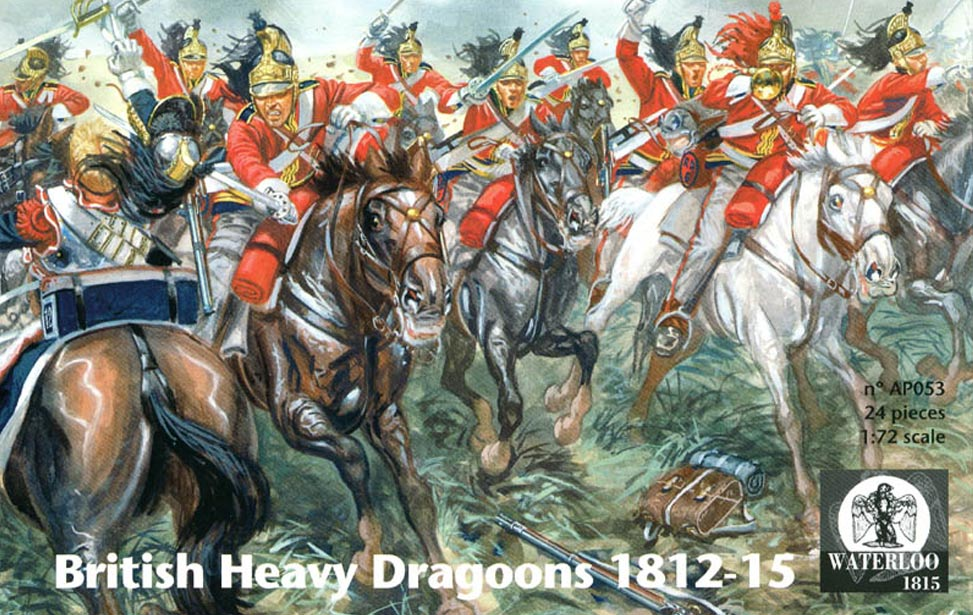 BRITISH HEAVY DRAGOONS 1812/1815